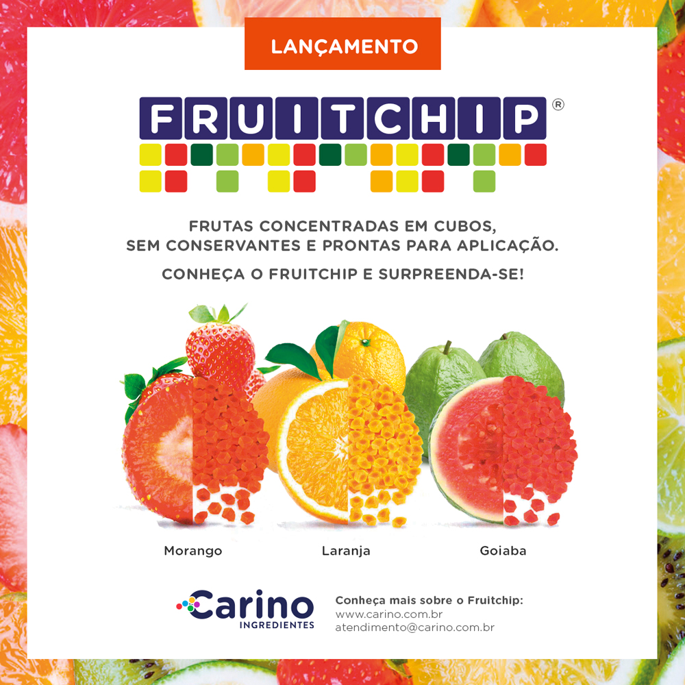 Carino Fruitchip - Cubos de fruta natural